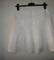 HUGO BOSS orig. suknja boje vrhnja vel.36
