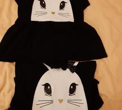 H&M lot majice/tunike-2 velicine🦄🦄🦄
