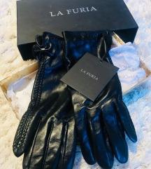 LA FURIA rukavice-prava koža-NOVO!