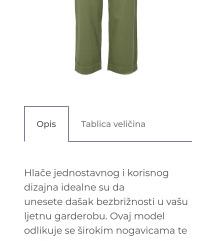 Barbour hlače