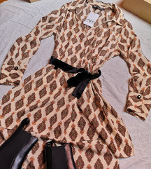 Košulja tunika i remen Zara