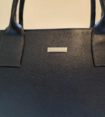 Tamnoplava poslovna torba