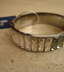 Swarovski platinum narukvica
