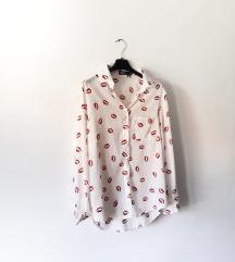 Bijela košulja sa pusicama ASOS