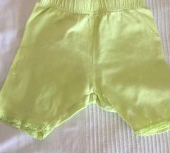 Kratke hlačice - zelene