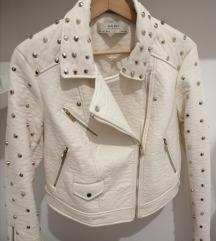 Zara kozna jakna s zakovicama 38 pt uklj