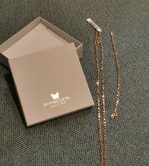 Borboleta ogrlica i narukvica