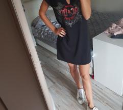 AC/DC Fishbone haljina, vel M