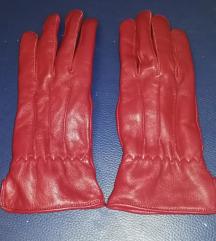 Bordo rukavice vel S/M nove