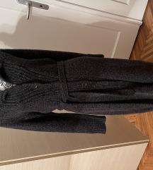 RASICA  pulover  kaput vel M/L sivi