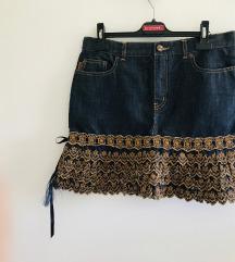 Moschino Jeans traper suknja minica 36 38