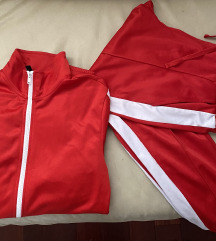 H&M crvena trenirka 🏃🏼♀️ SNIZENO