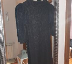 Crna čipkasta haljina 🖤