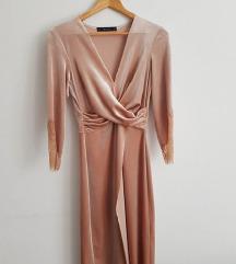 Zara haljina pliš