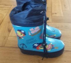 dječje futrane gumene čizme