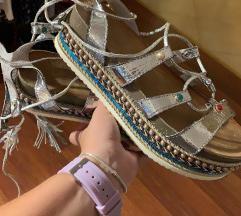 Ljetne sandale platforma