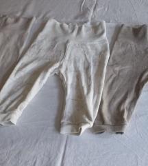 Lot od 3 pamučne hlačice, vel. 68