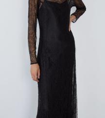 nova haljina od crne čipke