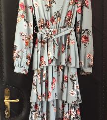 Haljina cvjetna novo