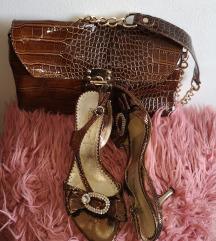 Lot zlatne i bakrene sandale skupa 50kn
