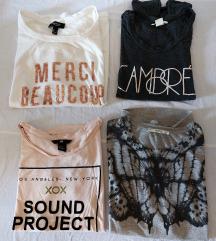 Lot 4 majice (pt ukljucena)♡♡