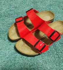 Nove Birkenstock Arizona crvene natikače