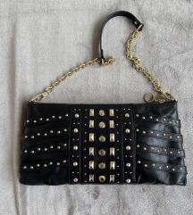 DKNY crna kožna torba