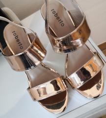 Štikle sandale 39