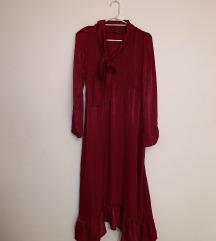 Maxi crvena haljina NOVA