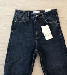 Zara vintage skinny traperice nove