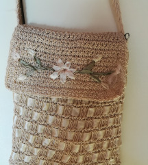 Pletena ljetna torbica