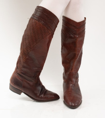 Vintage kožne čizme