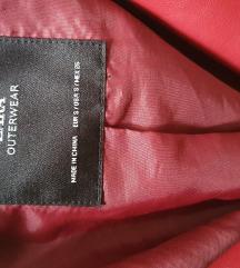 💟 ZARA kožna jakna S💟