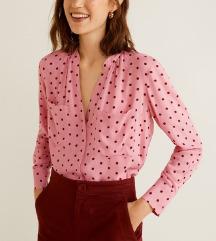 Mango roza bluza