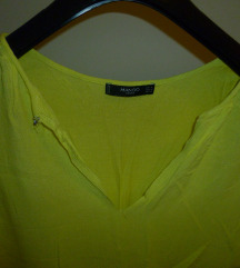 MANGO  žuta bluza