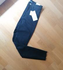 Zara nove crne traperice visok struk