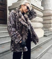 ZARA leopard print kaput