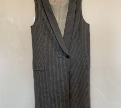 Zara Prsluk haljina  blazer dress vest dress S 36