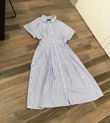 Zara haljina / košulja, nova