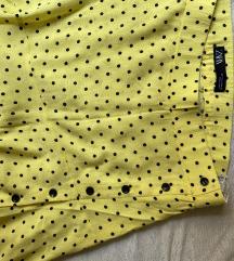 ZARA žuta suknja na točkice