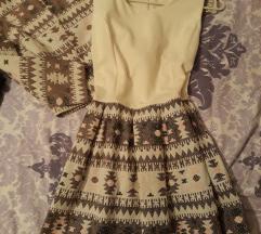 Komplet haljina i sako