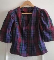 Zara karirana bluza