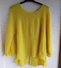 Zuti topli pulover, uni vel