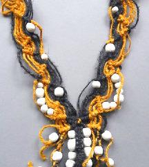 Unikatna ogrlica, makrame