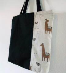 Alpaka torba - handmade