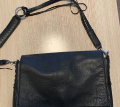 Zara kožna torba s preklopom