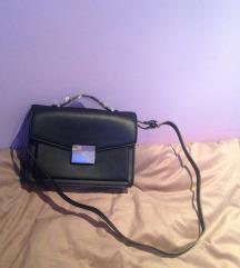 Zara crna poslovna torba