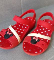 Crocs minne mouse papuče C12 gazište 18cm