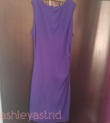 MANGO plava haljina