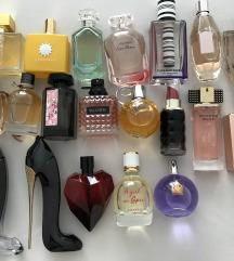 Dekanti parfema iz vlastite kolekcije